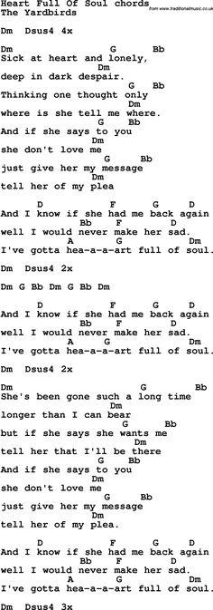 Ramble On (Led Zeppelin) Guitar Chord Chart | song | Pinterest ...