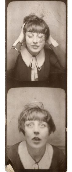 Photomaton byMarie-Berthe Aurenche,1929 - Photobooth - photomaton