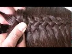 5 strand braid step by step Cute Hairstyles, Braided Hairstyles, 5 Strand Braids, Braids Step By Step, Hair Fair, Little Girl Fashion, About Hair, Hair Videos, Hair Designs