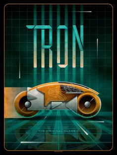 Tron by DKNG / Store X screen print, numbered edition of Available CST Monday, November HERE. Tron Art, Starwars, Light Cycle, Tron Legacy, Movies And Series, Alternative Movie Posters, Alternative Art, Sci Fi Movies, Cult Movies