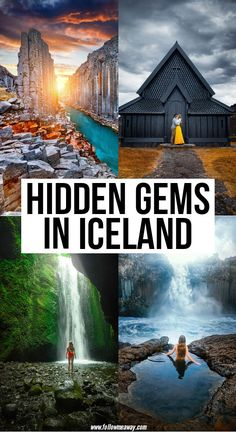 12 Magical Hidden Gems In Iceland Hidden Gems In Iceland Iceland Travel Tips, Europe Travel Tips, European Travel, Places To Travel, Travel Destinations, Places To Visit, Travelling Tips, Thing 1, Adventure Is Out There