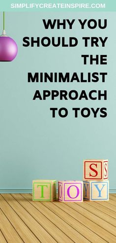 Want your house back? Try the minimalist approach to toys in your home & find the many benefits for having minimalist toys only & minimalist kids rooms. Kids room minimalism tips and ideas. Minimalist Kids, Minimalist Living, Minimalist Parenting, Minimalist Lifestyle, Toy Storage Solutions, Home Organisation, Organization, Clutter Free Home, Temporary Wallpaper