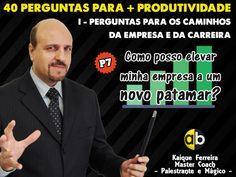 Você sabe a resposta para a 7ª pergunta?  Conheça todas as perguntas no link: http://www.academiab.com.br/40-perguntas-para-melhorar-a-sua-produtividade/  #DicaDoCoach #Empreendedorismo #Produtividade #Sucesso #Coach #Carreira