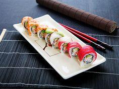 Japanese Sushi- chyba najbardziej znane danie z krajów azjatyckich. :-)