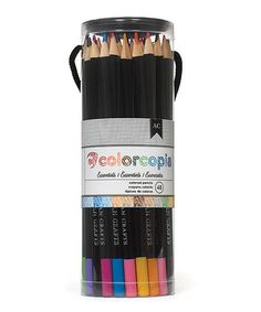Love this Colored Pencil Set on #zulily! #zulilyfinds