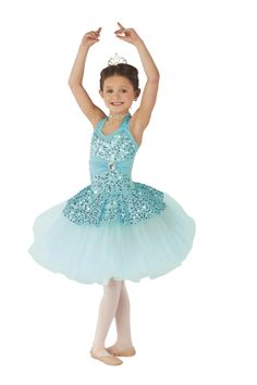 Miss Diana's 4:30 Wednesday Pre-Ballet 2 & Tap: Le Petit Minuet. Photo courtesy Costume Gallery.