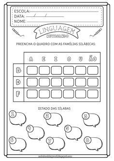 Notebook da Profª: Atividades Revisão - Letras B, D e F