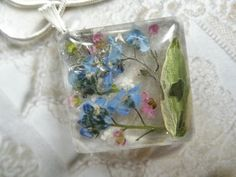 Remember Me Always-Sky Blue Forget-Me-Nots by giftforallseasons