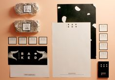 Baked Cookies Global Brand Identity / Packaging by shawn chow, via Behance