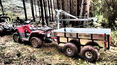 Vozík za čtyřkolku ATV