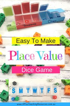 FREE Place Value Dice Activity Download on our website!