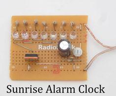 Sunrise alarm clock DIY