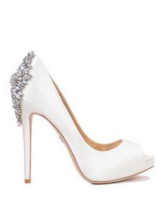 Stiletto Pumps, Peep Toe Pumps, Platform Bridal Shoes, Platform Pumps, Tiffany Blue Heels, Best Bridal Shoes, White Wedding Shoes, Fancy Shoes, Women's Shoes