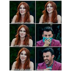 kiralık aşk | Tumblr Ted Mosby, Elcin Sangu, Turkish Actors, Really Funny, Couple Goals, Kdrama, Film, Writer, Actresses