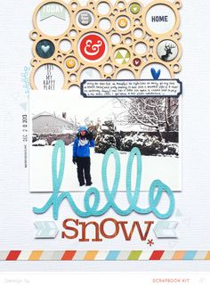 Hello Snow *Main Kit Only* by qingmei at @Studio_Calico