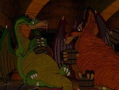 The Flight of Dragons (1982) - A young Boston writer goes back in time into an era where wizards and dragon reign and science is just barely known. Description from pinterest.com. I searched for this on bing.com/images