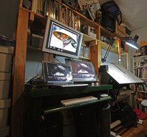 workstation June '09 by localspaceman