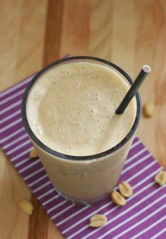 Apple Peanut Butter Protein Shake Recipe | Fake Food Free
