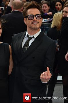 Robert Downey Jr.  Iron Man 3 UK premiere held at the Odeon Leicester Square - Arrivals - London, United Kingdom - Thursday 18th April 2013