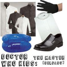 """""""Doctor Who Kids: The Master (Delgado)"""""""