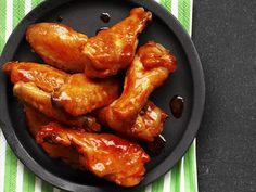 Alton Brown's Buffalo Wings recipe from Alton Brown via Food Network