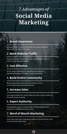 7 Top Advantages Of Marketing On Social Media Social Media Marketing Business, E-mail Marketing, Social Media Branding, Facebook Marketing, Content Marketing, Affiliate Marketing, Online Marketing, Mobile Marketing, Marketing Software