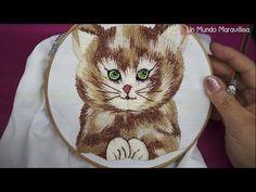 [Puntada Fantasía] Pelo para animales | #BordadosConIsa - YouTube