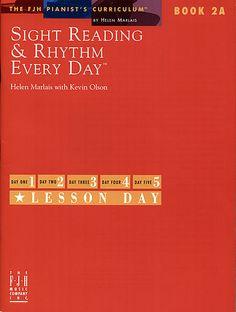 Sight Reading & Rhythm Every Day, Book 2A