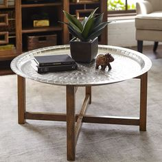 Marvelous Moroccan Tray Coffee Table | Pier 1 Imports U2026