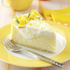 Sitrus-juustokakku - Citrus Cheesecake Recipe