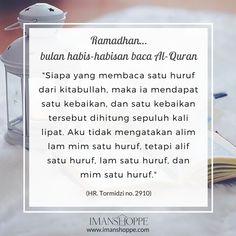 Dah baca Al-Quran sampai juz ke berapa hari ini? ;)