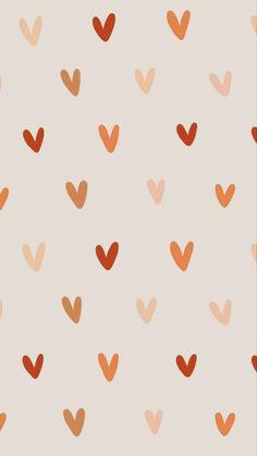 Wallpaper Für Desktop, Homescreen Wallpaper, Iphone Background Wallpaper, Pastel Wallpaper, Aesthetic Iphone Wallpaper, Heart Iphone Wallpaper, Cute Fall Wallpaper, Cute Patterns Wallpaper, Image Deco