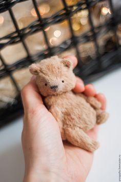 """Купить Миниатюрный мишка тедди """"Малыш"""" - бежевый, мишка тедди, мишки Тедди купить"""