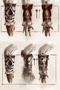 This image is taken from 'Assassins Creed 2', it appears to have a rustic and very realistic appearance........ blueprints, old, dangerous, inventive, mysterious