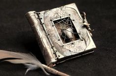 Sterling Silver Book of Lost Love by Christi Anderson