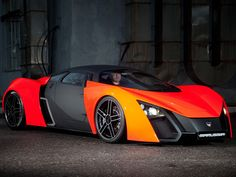"Cars - The New ""Marussia B2"" - Built by Russian automaker 'Marussia Motors'. The…"