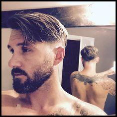 New men's hairstyles 00078 Mens Modern Hairstyles, Men's Hairstyles, Straight Hairstyles, Best Short Haircuts, Hair 2018, New Man, Fall Hair, Barber Shop, Short Hair Cuts