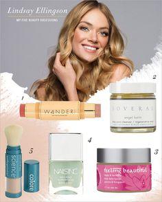 Discover model Lindsay Ellingson's  top beauty obsessions! #goodlooks