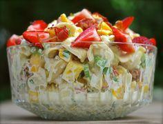 hawaiian mango tango tortellini salad | ChinDeep