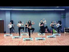 Mega Mix 58 - Tu Mi Medicina - Andy Quintero - Zumba ® Step Choreo by Ni. Dance Tips, Dance Moves, Step Aerobics, Step Workout, Burn Belly Fat, Feeling Great, Pilates, At Home Workouts, Cardio