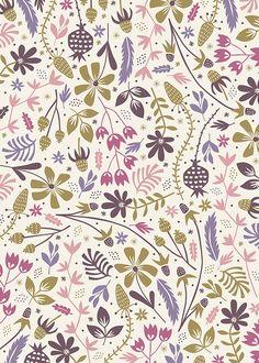 Floral Blooms by Anna Deegan, via Behance