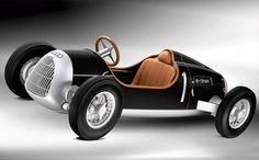 Audi Auto Union Type C E-Tron Study, electric car, alternative transportation, clean transportation, green transportation, green car, green ...