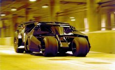 Batman's Tumbler | 12 Of The Most Badass Movie Vehicles Of All Time