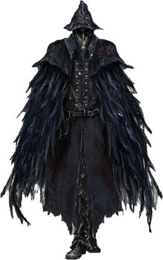 A raven, one of the followers of On-Tez the Vulture Woman