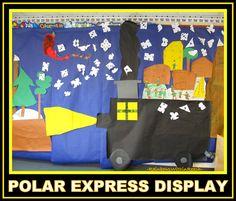 Christmas+Bulletin+Board+for+Polar+Express.jpg 1,600×1,363 pixels