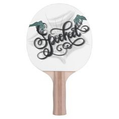 Spooked Ping Pong Paddle - Halloween happyhalloween festival party holiday