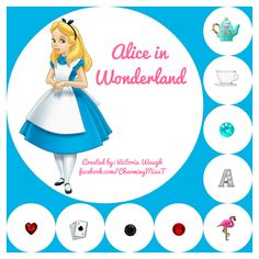 Alice in Wonderland themed Origami Owl {Order directly at www.CharmingMissT.origamiowl.com or contact me through the FB source link and we can personalize this look specifically for you!}