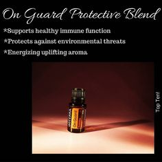 On Guard is one of my very favorite essential oils!  I use this one daily to support my immune system.  Do you realize that scent is connected to memory in a powerful way?  It can trigger a memory instantaneously.  Which is why essential oils can be so soothing to the emotions.  The first time I smelled On Guard it immediately transported me back to a very early memory.  I was a child and  mom had us making Christmas ornaments.  We were pushing clove into oranges (I still remember the sore…