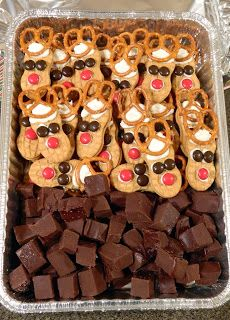 Pattitudes: Christmas Potluck - Cinnamon Fudge & Reindeer Cookies