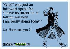 introvert humor -